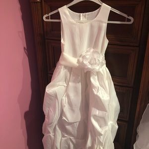 Other - LN worn about an hour Special White Dress size 4
